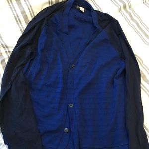 Men's brand new cardigan sweater size m